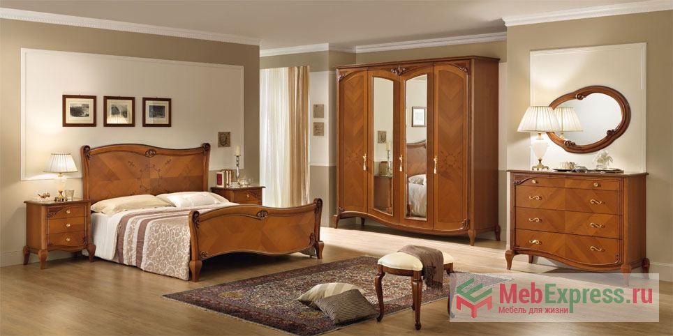 Narciso Ciliegio нарцисо вишня италия спальня нарцисо спальни